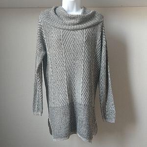 Eight eight eight Herringbone Cowl Sweater - L